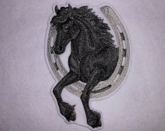 XXL Patch Horse Friese application