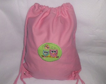 Sports Bag Backpack Embroidered