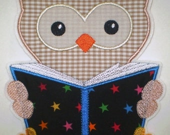 Patch XXL Owl with book application