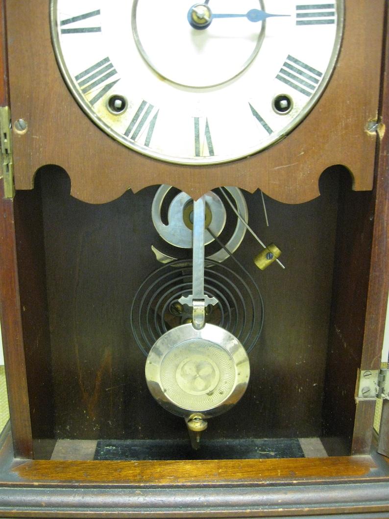 Seth Thomas Clock, 8 Day City Series, Model