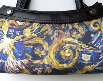 Doctor Who - Exploding TARDIS- Purse Skirt ONLY for Thirty-One Purse