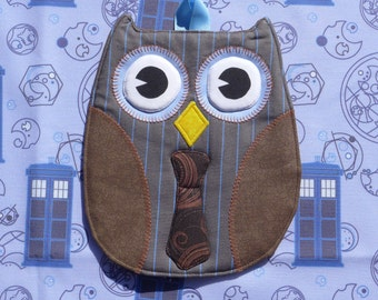 One Doctor Who Owl Hot Pad - Tenth Doctor