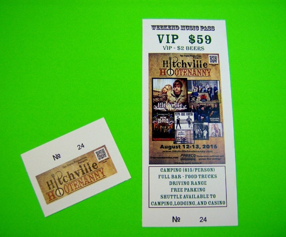 200 custom printed tickets event concert raffle drawing etsy