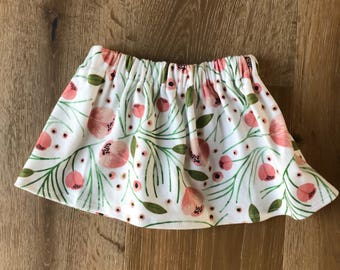 Circle Skirt in Organic Cotton for Babies and Kids - You Choose Print