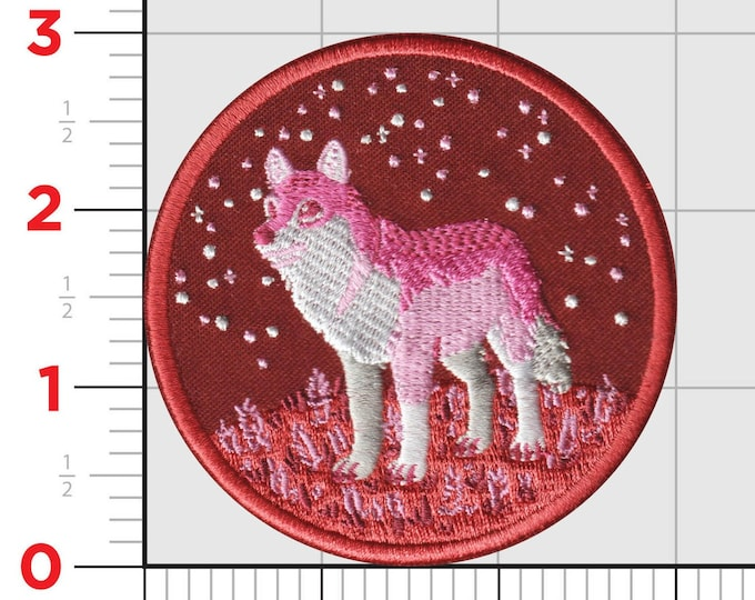 PRE-ORDER: Lesbian Wolf Patch
