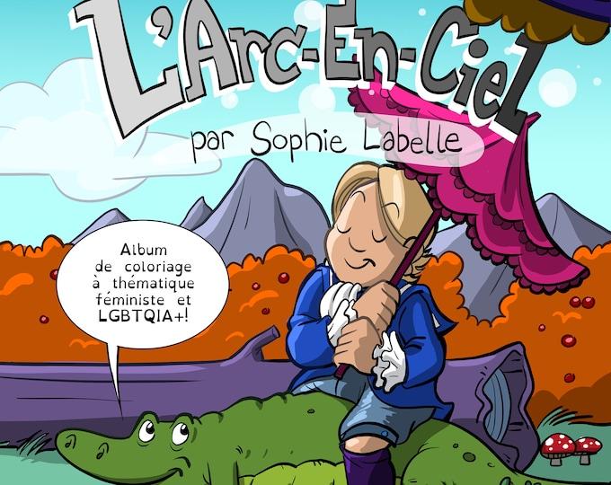 PDF - French version! Ajoute tes propres couleurs à l'Arc-en-ciel!