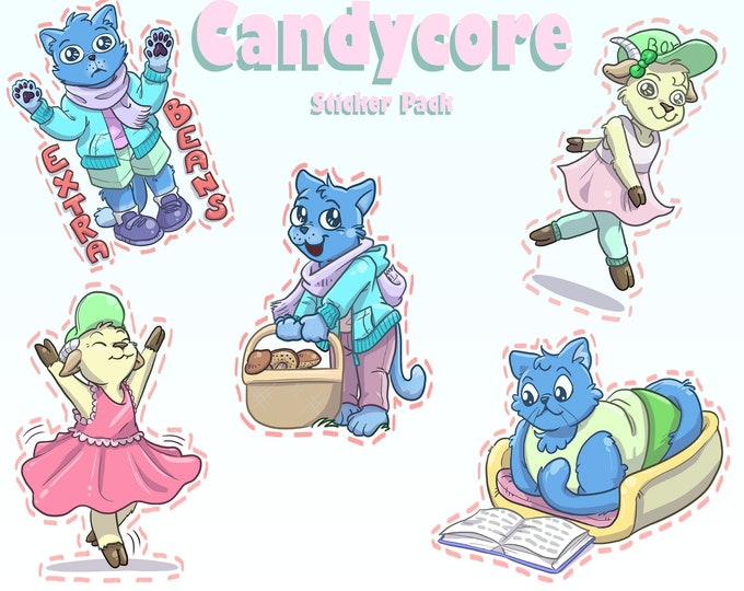 Candycore Sticker Pack