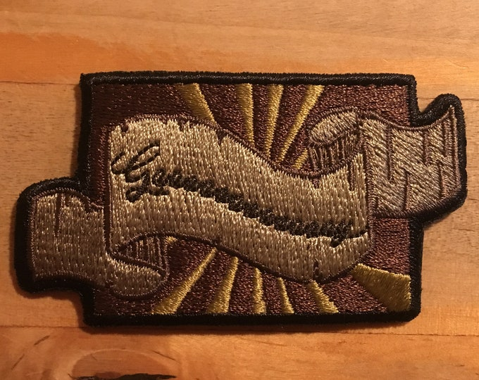 Gaaaaaaaaaaay iron-on patch