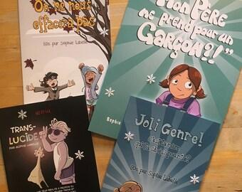 Super Colis des Fêtes 2018! 4 nouveaux livres de Sophie Labelle