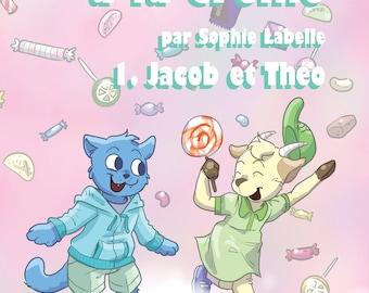 Précommande - Sucre à la crème 1 : Jacob et Théo - BDs par Sophie Labelle
