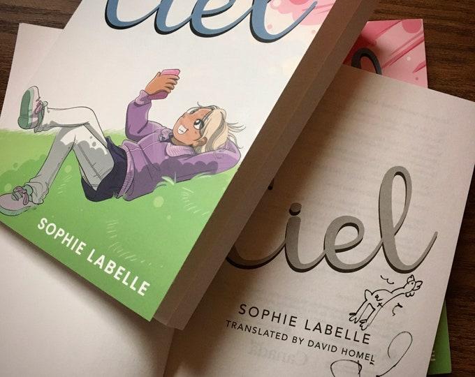 Ciel (signed) - novel by Sophie Labelle