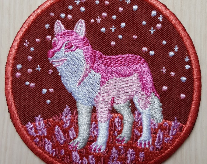 Lesbian Wolf Iron-on Patch