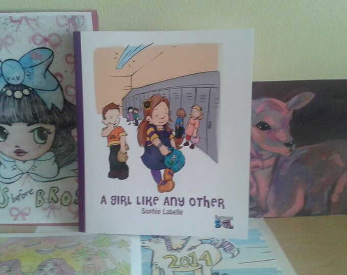 A Girl Like Any Other - children's book by Sophie Labelle