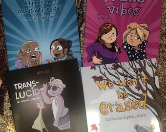 Super Holiday Pack! 4 Assigned Male comic books!