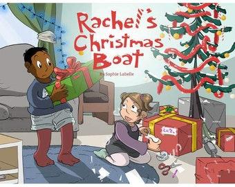 Rachel's Christmas Boat - children's book by Sophie Labelle