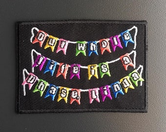 Our Whole Life is a Phase, Linda - Iron-on patch