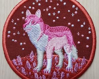 Lesbian Wolf Iron-on Patch