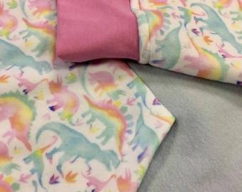 Very Lörge Rainbow Dinosaur Hoodie - Hoodie-dress by Sophie Labelle