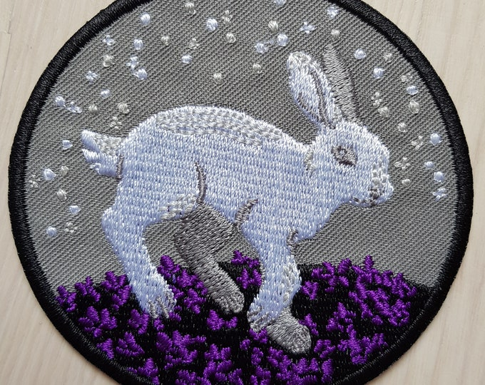 Ace Hare Iron-on Patch