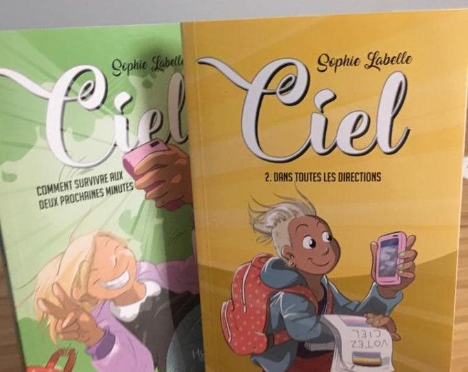 Ciel, tome 1 et 2 - romans - dédicacés par Sophie Labelle (FR)