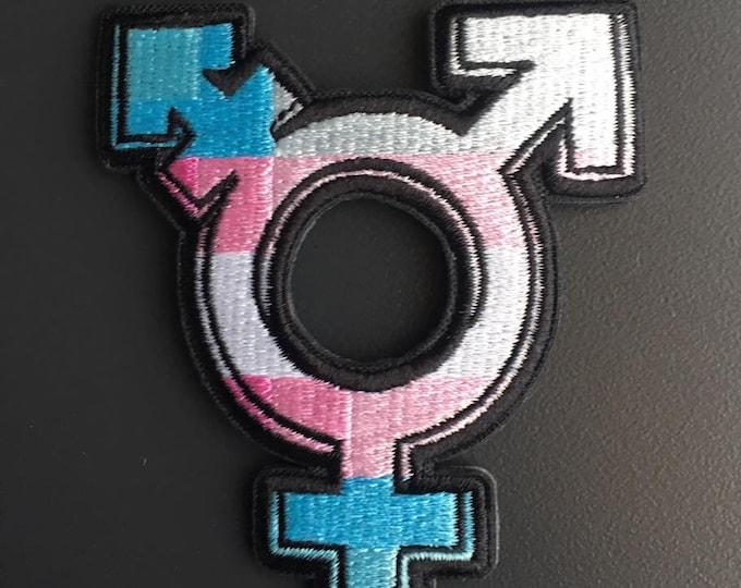 Trans symbol - Iron-on patch