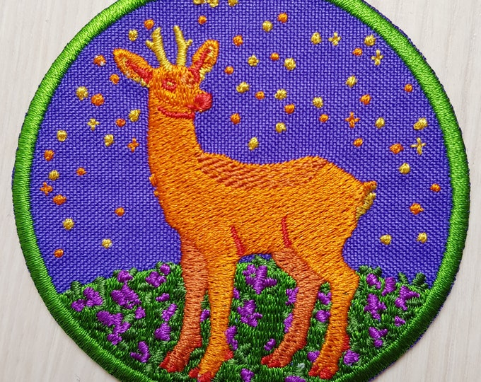 Pride Deer Iron-on Patch