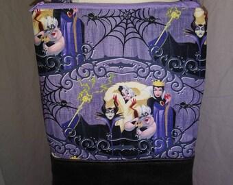 d9d6bf590ae Disney sling bag, disney villains crossbody bag, villians shoulder bag,  Ursula sling bag, evil queen shoulder bag, cruela devile cross body