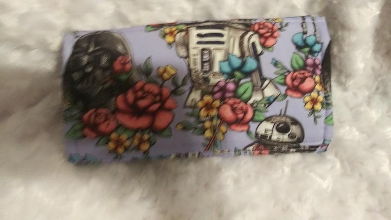 star wars wallet starwars necessary clutch wallet floral wars wallet Star wars floral wars Starwars Necessary Clutch Wallet