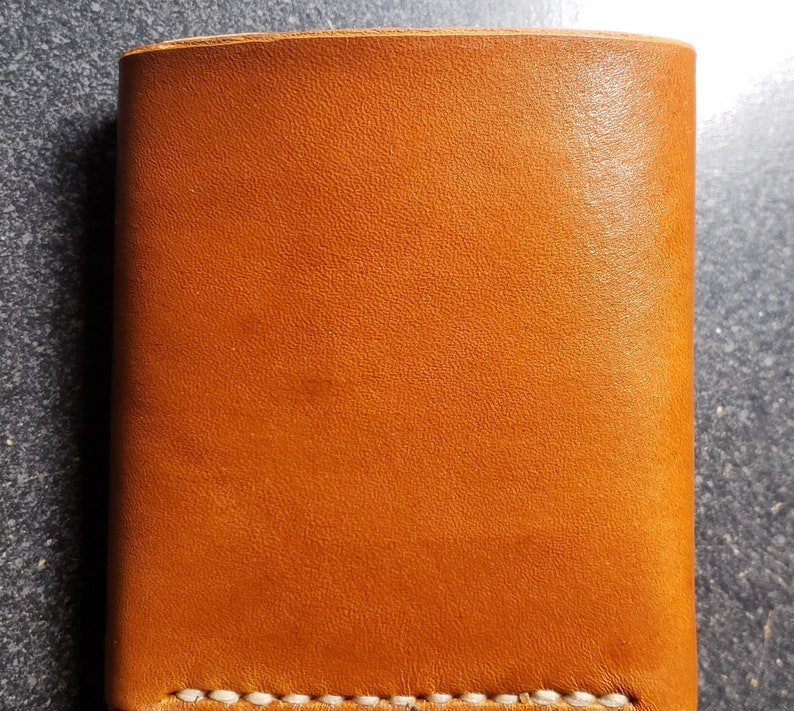 Classic Leather Tri-Fold Wallet image 0
