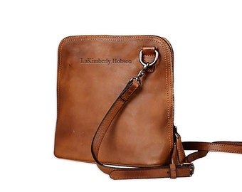 Leather crossbody purse  2d620aa721b17