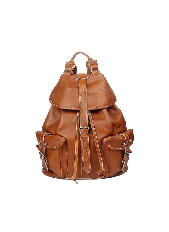 Leather Backpack Women Rucksack Women Leather Backpack Men   Etsy 410561ec16