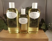 Organic Massage Oil - Choose from 70 Scents - Essential Oil Scented- Sweet Almond Oil - All Natural