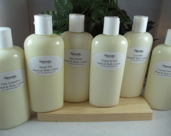 Organic Fall & Holiday 8 oz Hand and Body Lotion- Super Moisurizing with Jojoba Oil and Shea Butter - Intense Dry Skin Therapy -Paraben Free