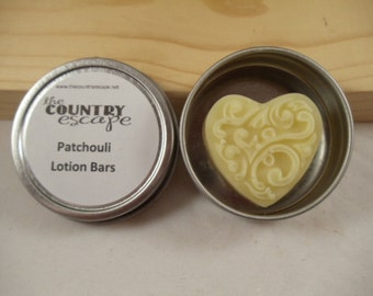 Heart Lotion Bars w/ Round Tin for Special Occasions - Wedding Favors - Baby Shower Favors - Bridal Shower Gifts - Hostess Gifts