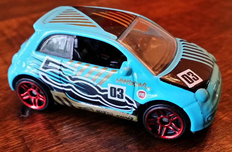 Several Colors Available Fiat 500 Diecast USB Flash Drive
