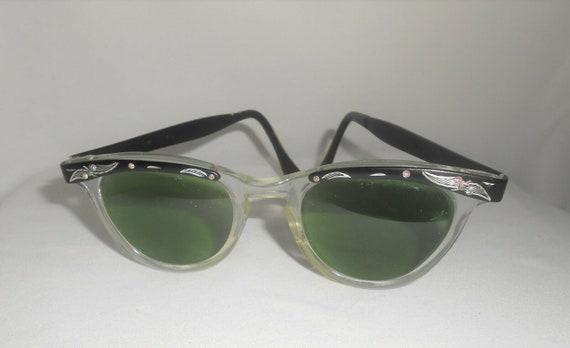 Eyeglass Frames,  Cats Eye Sunglasses,  Vintage Su