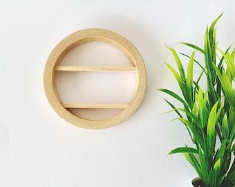 Dollhouse Miniature Timber Shelf