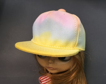 Rainbows colorful cap-for blythe doll