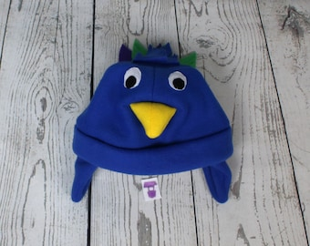 4e8e8e8e93a Baby and Kids Peacock Fleece Hat