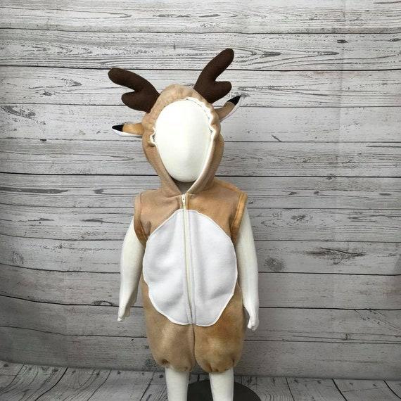 12m Hirsch Fleece Baby Strampler 12m Reh Baby Kostüm 12m Etsy