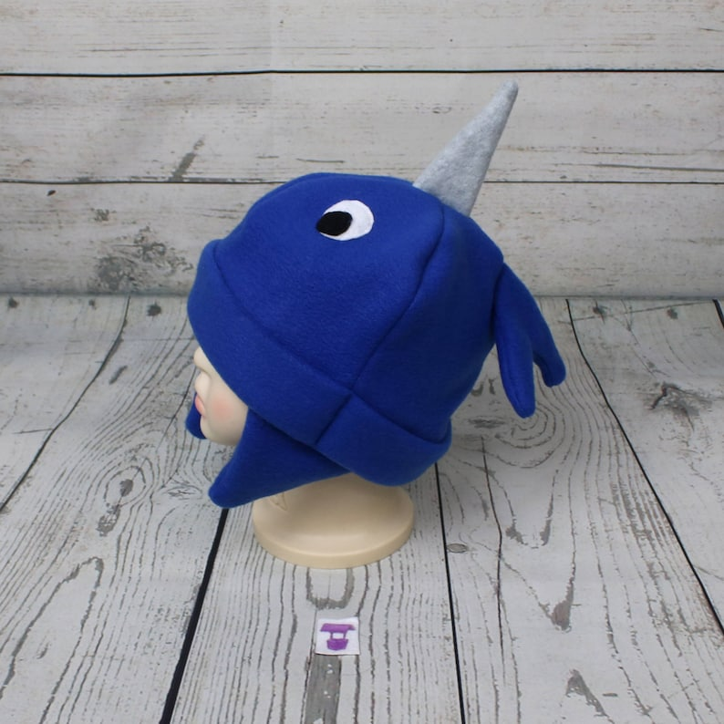 e90b86b431a Baby and Kids Narwhal Fleece Hat Narwhal Kids Hat Toddler