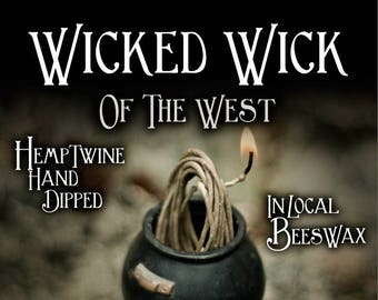 Wicked Wick of the West is a Hemp Wick!! 5 foot individual wick or 400 foot spool!