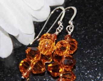 Crystal Rock Candy Earrings