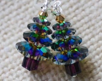 Swarovski Vitrail Medium Crystal Christmas Trees