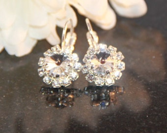 Swarovski Crystal Wedding Earrings