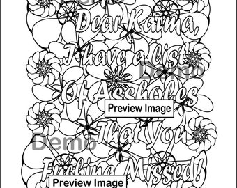 swear word coloring pages download Swear Word Coloring Page Happy SpermInstant Digital | Etsy swear word coloring pages download