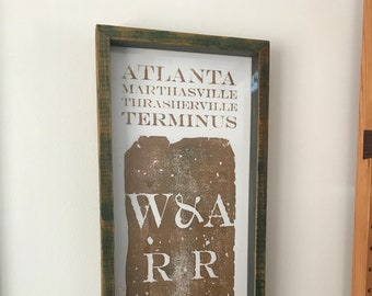 Atlanta Zero Mile Marker Print 26/29