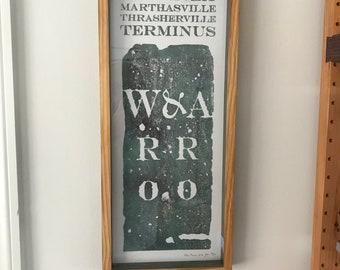 Atlanta Zero Mile Marker Print 20/29