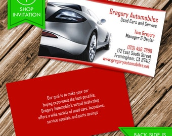 Auto body shop business card free shipping etsy auto cars business card free shipping colourmoves
