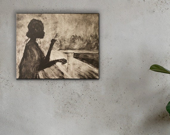 Solitude - Reproduction - Stretched Canvas